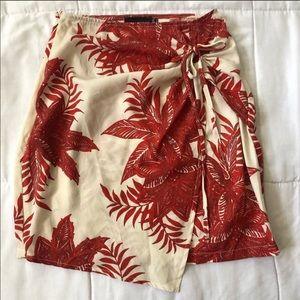 PrettyLittleThing Boho Mini Wrap Skirt